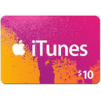 iTunes $10 USA  Dollar Gift Card Redeem Fast _Email delivery
