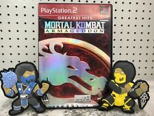 Mortal Kombat Armageddon Playstation 2 PS2 Complete W Collector Patches Hits