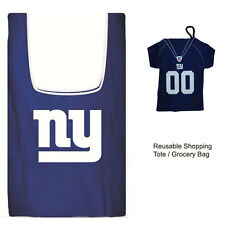 New Jersey Style NFL New York Giants Reusable Shopping Tote Grocery Bag