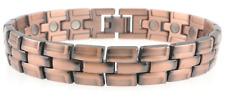 Men's Unisex Pesante in rame magnetico braccialetto fibbia 20 potenti magneti da artrite
