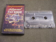 RARE OOP Hollywood Vice Squad CASSETTE TAPE soundtrack Chris Spedding RESTLESS !