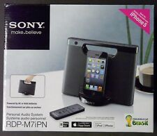 Sony RDP-M7IPN Lightning Connect iPhone/iPod Portable Speaker Dock & Charger