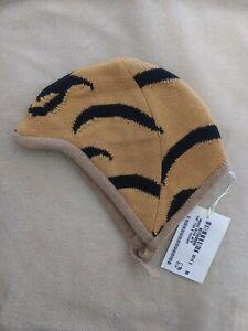 GUCCI Baby Infant Child Unisex Tiger Wool cap beanie bonnet hat M
