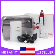 Dr.Pen Electric Derma Pen Auto Stamp Meso Roller Anti Aging+2x12pin Micro Needle