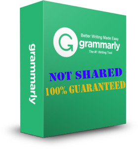 Grammatically Checker Grammarlly Premium Account - 100% NOT SHARED!