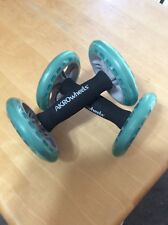 Vintage Akro Wheels Total Body Trainer Core Exercise Abs Euc