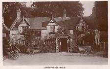 Loggerheads Hotel Pub Mold RP old pc used 1916 E Williams