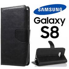 Custodia SAMSUNG GALAXY S8 Flip Cover Libro Portafoglio Chiusura Magnetica