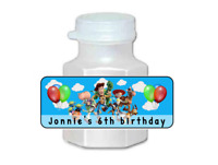 30 Toy Story birthday party mini bubble labels stickers decorations