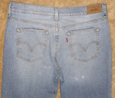 515 Levis Womens Bootcut Blue Jeans Red Tab Pants Size 8M #2469