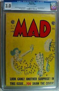 Mad #18 – 12/54 EC Publications Comic – Magazine CGC 3.0 – Dots NOT Connected