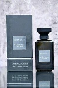Oud Wood Intense Monster UNISEX Fragrance Perfume by PARIS CORNER, 80ml EDP.