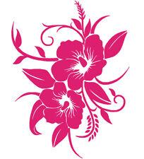 Sticker Décoration Murale ou Voiture Nature Fleur (40x30cm)