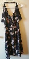 KIMCHI BLUE Urban Outfitters Floral BLK MOTIF SLEEVELESS Dress SKU 44125938