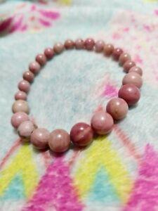 Rhodochrosite Healing Bracelet: self love, compassion, aura protection, joy,...