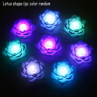 1/6/12 x Flameless LED Candle Flickering Tea Light Battery Valentine/Wedding