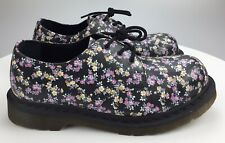 Excellent Steel Toe Floral Print Dr Doc Martens Womens US 9 41 Oxfords 1925 5400