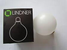 Lindner Lámpara de globo GLOBE G120 SATINADO E27 100W Bombilla 2000h GERMANY