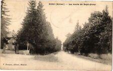 CPA DIOU-La route de Sept-Fons (262261)