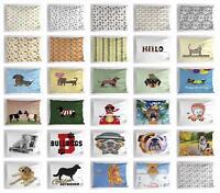 Dog Pillow Sham Decorative Pillowcase 3 Sizes Available for Bedroom Decor