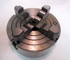 """Unknown Brand 8"""" 4-Jaw Chuck for Metalworking Lathe New In Box"""