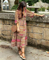 Zara AW2020 Paisley Print Dress Size S Bloggers Fave