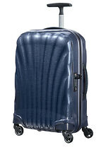NEW Samsonite Cosmolite Hardside Spinner Case Small 55cm Midnight Blue 1.7kg