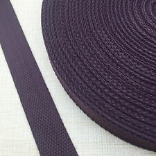 New 2 5 10 50 Yards Length 1Inch (25mm) Width Nylon Webbing Strapping Pick Color