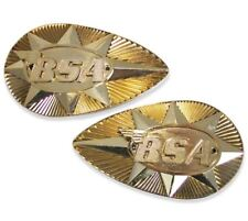 BSA Petrol Tank Badges B25, B44, A50, A65 1968-70 82-9695 82-9696