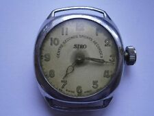 WW2 - trench watch SIRO (ORIS)  Still case-1930/1940  35 mm ca swiss made