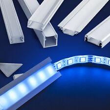 Lichtprofile LED Scheine bis 200cm Beleuchtung Lampe Leuchte ALU Profil