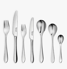 Robert Welch Meridian Bright Cutlery Set, 42 Piece/6 Place Settings (BRAND NEW)