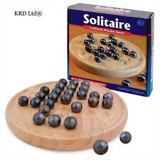 Tobar Traditional Solitaire Board Game Travel Classic Stocking Filler Kids Toys