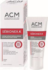 Acm Sebionex K -Acne Cream,anti-inflammatory mattifying skin care 40 ml