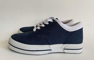 Drew Women's Kick Navy Canvas Sneakers Shoes 10150-44 Size 7.5 WW MSRP $150