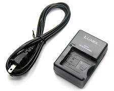 Battery Charger for Panasonic CGA-S002E/1B CGR-S002 CGR-S002E DMW-BM7 DE-994