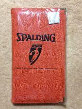 New Spalding Wnba Basketball Official Game Ball Portfolio Folder 5'x 9'