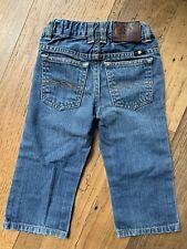 Lucky Brand Billy Straight Toddler Boy Dark Denim Jeans Size 18 Month Adorable!