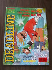 DEADLINE #20 JULY 1990 TANK GIRL PHILIP BOND HUGO TATE BRITISH MONTHLY COMIC^