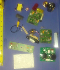 Lot Various Interesting Altered Art Parts Electronics Project Steampunk E4T