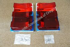 NOS 1967 1968 Ford Mustang Tail Light Lenses Pair C7ZZ-13450-A 67 68 GT GTA