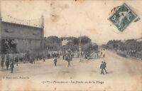 CPA 13 - MARSEILLE - Le Prado vu de la Plage