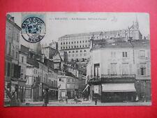 BAR-LE-DUC  :  La Rue Rousseau  -  Le Beffroi et le Couvent......VO.1905.