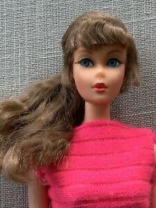 Vintage Mattel Talking Barbie Doll - Brunette Side Ponytail Body  TLC