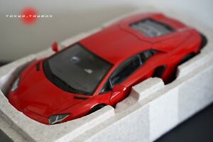 AUTOart 1/18 Lamborghini Aventador LP700-4 Rosso Andromeda Red 1:18