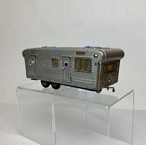Vintage 1950s Cragstan SSS Japan Tin Toy Camper Trailer Mobile Home