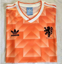 New 1988 Holland Netherland Football Soccer T-Shirt Retro Vintage Classic Jersey