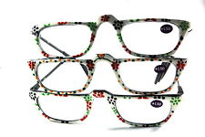 UV 0554 Lady Reading Glass Color Frame +150 3 for 1 price