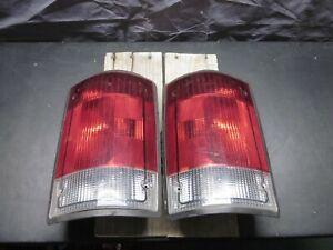 OEM NEW 2005-2019 Ford E-250, E-350 Tail Light PAIR Econoline Left Right