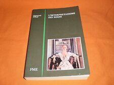 sigmund freud ò'interpretazione dei sogni fme 1990 intro di f. manieri